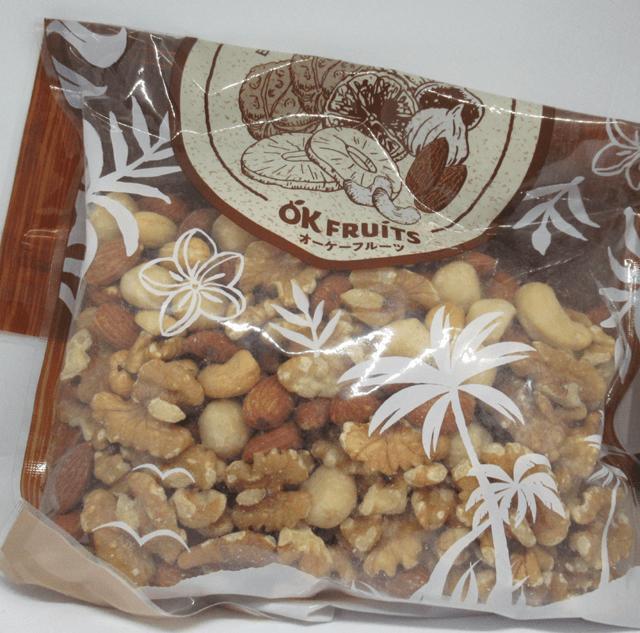 OKフルーツのミックスナッツ