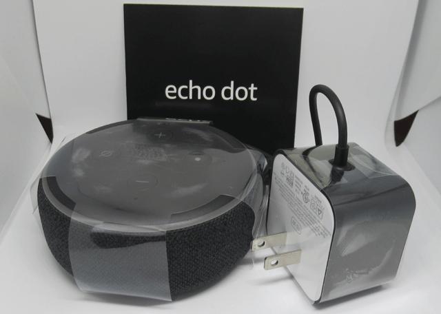 Echo Dot の箱の中身