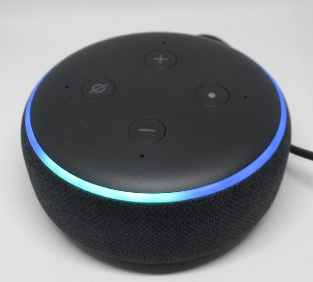 Echo Dot の光