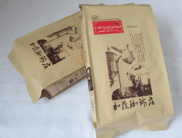加藤珈琲店のコーヒー福袋