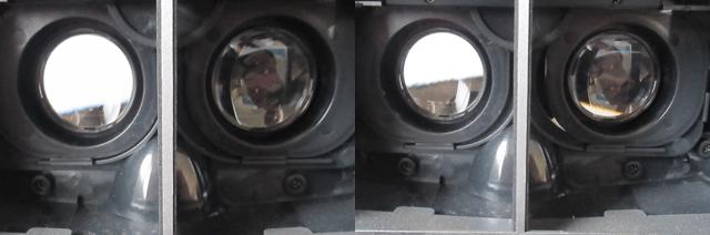 レンズの調整
