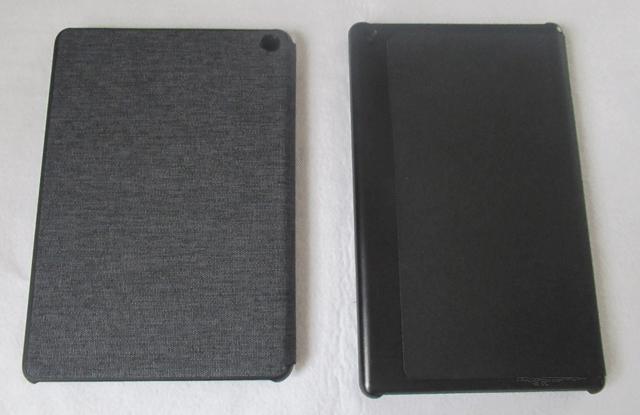 新旧Fire HD 8 タブレットのカバー比較