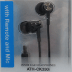iPod/iPhone/iPad専用インナーイヤーヘッドホン